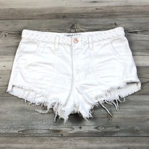 Abercrombie & Fitch High Rise Festival Shorts